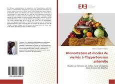 Buchcover von Alimentation et modes de vie liés à l'hypertension artérielle