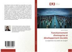 Обложка Fonctionnement d'entreprise et développement durable
