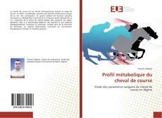 Bookcover of Profil métabolique du cheval de course