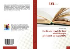 Portada del libro de L'iode oral régule la flore microbiotique prévenant les microRNAs