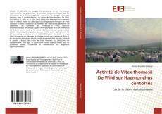Bookcover of Activité de Vitex thomasii De Wild sur Haemonchus contortus