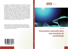 Portada del libro de Convection naturelle dans une enceinte de nanofluides