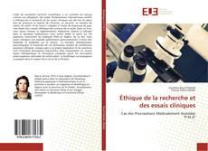 Éthique de la recherche et des essais cliniques kitap kapağı