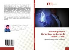 """Capa do livro de Reconfiguration Dynamique du Cache de Niveau 1 """"dl1"""""""