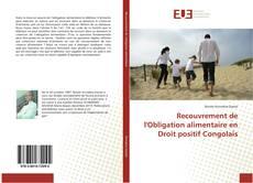 Couverture de Recouvrement de l'Obligation alimentaire en Droit positif Congolais