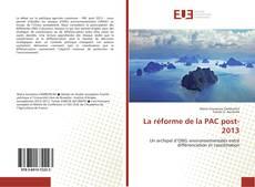 La réforme de la PAC post-2013 kitap kapağı