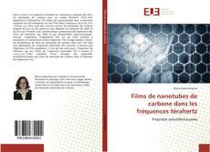 Couverture de Films de nanotubes de carbone dans les fréquences térahertz