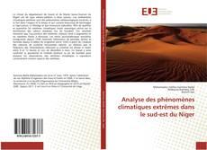 Обложка Analyse des phénomènes climatiques extrêmes dans le sud-est du Niger
