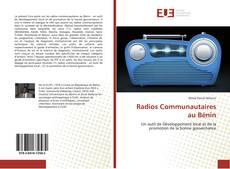 Portada del libro de Radios Communautaires au Bénin
