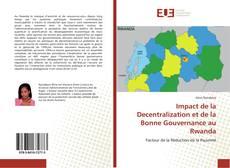 Bookcover of Impact de la Decentralization et de la Bonne Gouvernance au Rwanda
