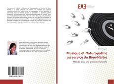 Borítókép a  Musique et Naturopathie au service du Bien-Naître - hoz