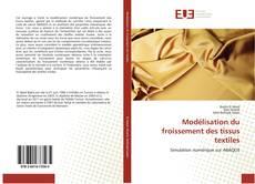 Buchcover von Modélisation du froissement des tissus textiles