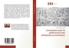Portada del libro de L'innovation pour la performance des entreprises au Cameroun