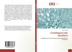 Capa do livro de L'intelligence des situations