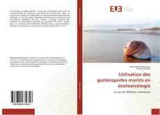 Capa do livro de Utilisation des gastéropodes marins en écotoxicologie
