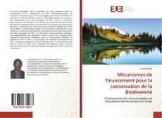 Portada del libro de Mécanismes de financement pour la conservation de la Biodiversité