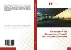 Capa do livro de Modélisation des dégradations d'énergie dans l'industrie du ciment
