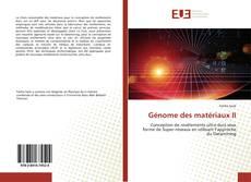 Capa do livro de Génome des matériaux II