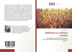 Bookcover of Médiation et relations sociales