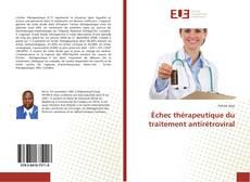 Échec thérapeutique du traitement antirétroviral kitap kapağı