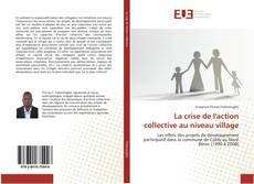 Portada del libro de La crise de l'action collective au niveau village