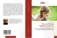 Обложка Vers une Ethique Appliquée volume 2