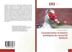 Copertina di Caractérisation et besoins protéiques du canard de Barbarie