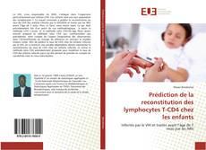 Обложка Prédiction de la reconstitution des lymphocytes T-CD4 chez les enfants