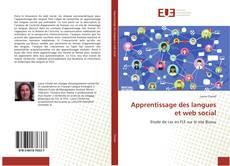 Обложка Apprentissage des langues et web social