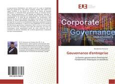 Portada del libro de Gouvernance d'entreprise