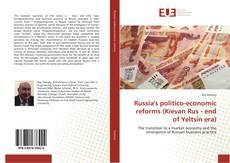 Buchcover von Russia's politico-economic reforms (Kievan Rus - end of Yeltsin era)