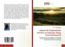 Couverture de Impact de l'exploitation miniere au Katanga: Enjeu Environnemental