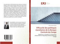 Bookcover of Efficacité des politiques monétaires de la Banque Centrale du Congo