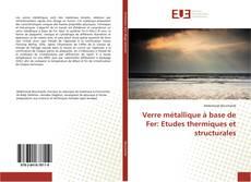 Verre métallique à base de Fer: Etudes thermiques et structurales kitap kapağı
