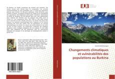 Couverture de Changements climatiques et vulnérabilités des populations au Burkina