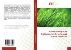 Copertina di Etude chimique et biologique de P. tortuosus et de P. lentiscus