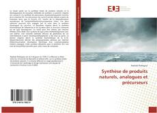 Capa do livro de Synthèse de produits naturels, analogues et précurseurs