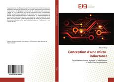 Buchcover von Conception d'une micro-inductance
