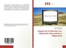Capa do livro de Impact de la télévision sur l'éducation des enfants à N'Djamena