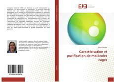 Обложка Caractérisation et purification de molécules cages