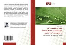 Portada del libro de La transition vers l'innovation soutenable pour les entreprises