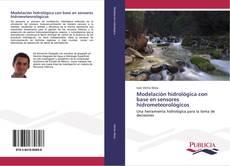 Portada del libro de Modelación hidrológica con base en sensores hidrometeorológicos