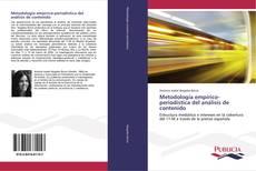 Copertina di Metodología empírico-periodística del análisis de contenido