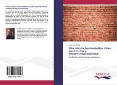 Una mirada hermenéutica sobre positivismo y neoconstitucionalismo kitap kapağı