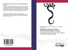 Portada del libro de Artrodesis de la primera metatarsofalángica del pie