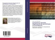 Portada del libro de Competencia docente: Organización de aprendizajes en Investigación