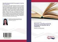 Capa do livro de Derecho constitucional de proteger la familia de la violencia