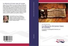 Portada del libro de Las Memorias de Leonor López de Córdoba