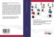 Обложка Cuestionario de evaluación de la docencia universitaria