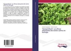 """Portada del libro de """"Azospirillum"""": un eficaz atenuante del estrés salino en lechuga"""